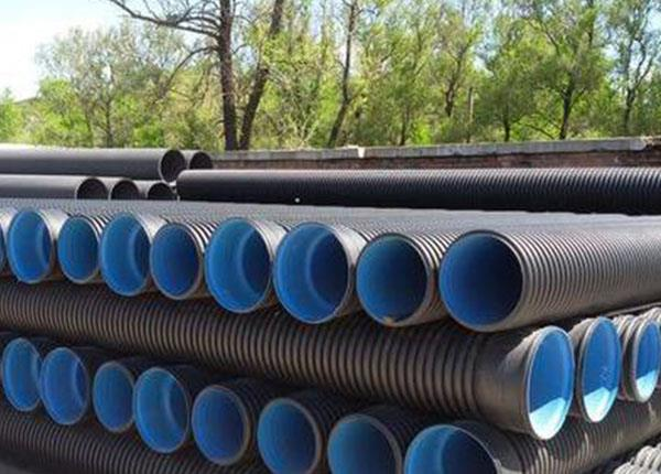 PE double wall corrugated pipe